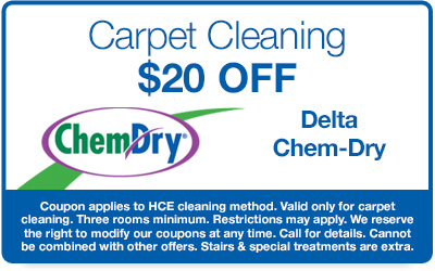 $20 Off Carpet Cleaning Coupon