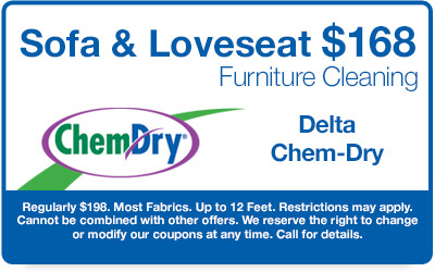 $144 Sofa & Loveseat Furniture Cleaning Coupon