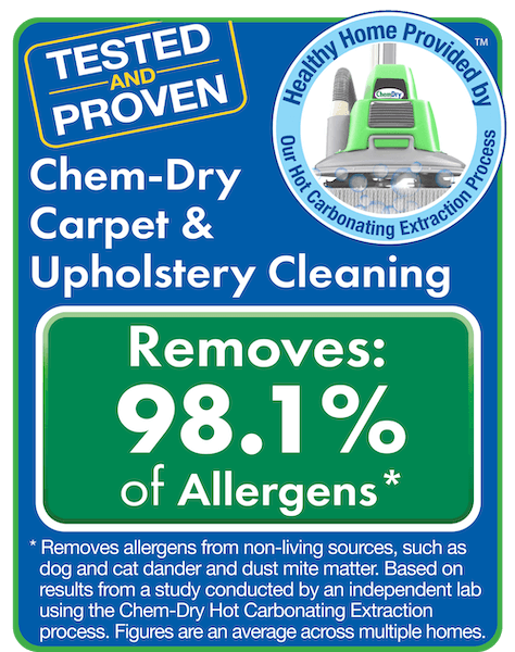 chem dry removes allergen test results