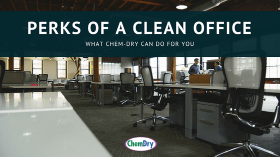 perks of a clean office blog