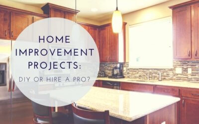 Home Improvement Projects: DIY or Call a Pro?