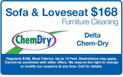 $144 Sofa & Loveseat Furniture Cleaning Coupon